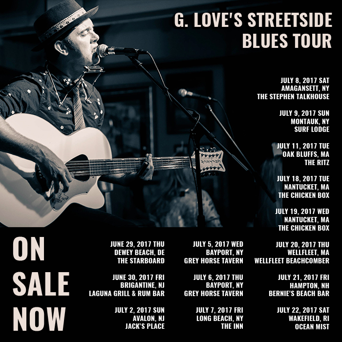 Streetside blues tour